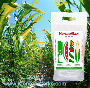 Organic Chicken Litter & Worm Castings VermaMax For Sale