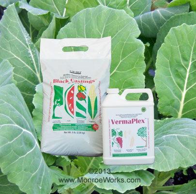 How to use worm castings in garden